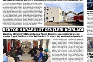 REKTÖR PROF.DR.AYSUN KARABULUT'A ZİYARET