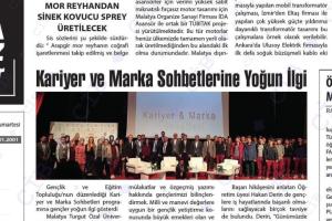 KARİYER VE MARKA SOHBETLERİ