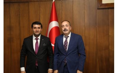 TCDD GENEL MÜDÜRLÜĞÜ'NE ZİYARET
