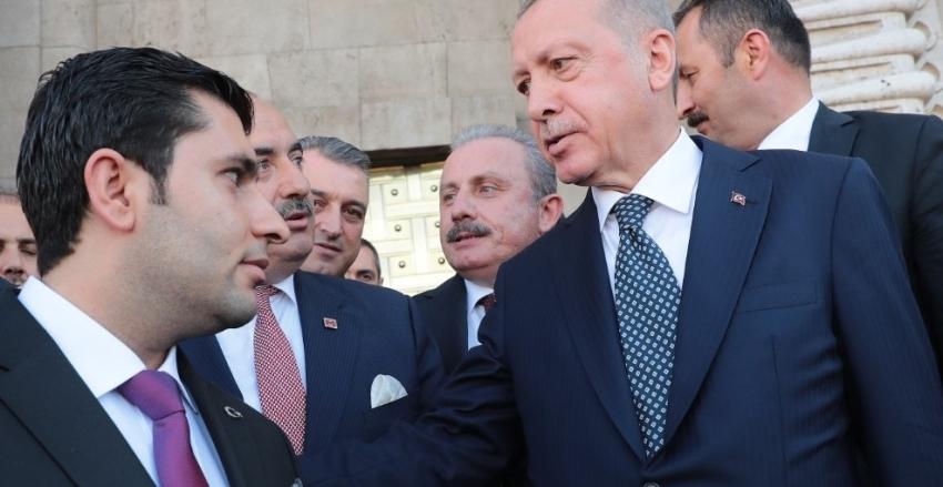 CUMHURBAŞKANI SN RECEP TAYYİP ERDOĞAN'A PROJE ANLATILDI